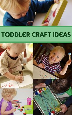 Toddler Craft Project Ideas