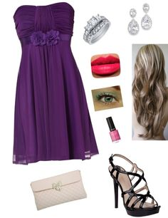 """Prom"" by haylie4000 ❤ liked on Polyvore"