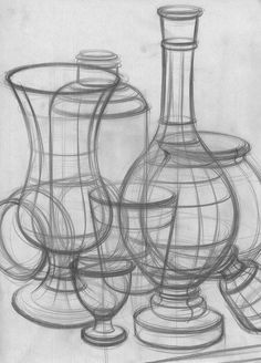 bleistift still life drawing Source link Still Life Sketch, Still Life Drawing, Still Life Art, Basic Drawing, Drawing Skills, Drawing Techniques, Structural Drawing, Scientific Drawing, Bottle Drawing