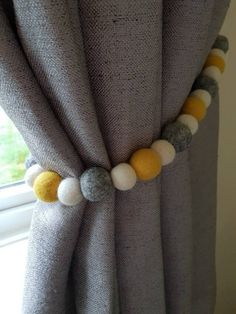 Grey And Mustard Curtains, Mustard And Grey Bedroom, Mustard Living Rooms, Grey And Yellow Living Room, Yellow Curtains, Grey Room, Home Living Room, Living Room Designs, Living Room Decor Curtains