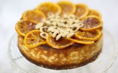 Baked Orange and Almond Ricotta Cheesecake Recipe by Jenny Morris