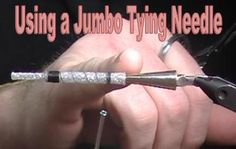 Egret Jumbo Tapered Needle for Tying Tube Flies http://www.canadiantubeflies.com/flytying-tube-fly-jumbo-tapered-pin.html