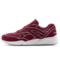 Puma Men s Trinomic R698 x ICNY Shoes Fiery Red 11 Running Silhouette 505e298d7