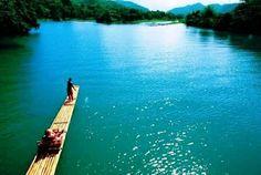 Rafting on the Rio Grande in Port Antonio, Jamaica