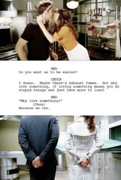 """""""Why love something? Because we can."""" - Pushing Daisies"""