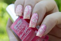 Nailz Craze: Floral Gradient  #nail #nails #nailsart