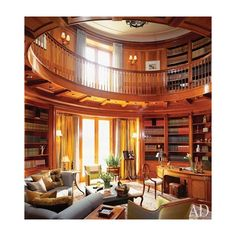 Books / a home library. ❤ liked on Polyvore featuring house, rooms, home, places and backgrounds