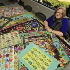 Quilt designer Sue Spargo's work subject of new book