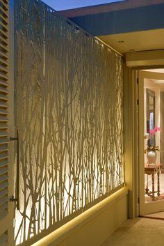 Franchesca Watson | Garden Designer Backyard Beach, Backyard Landscaping, Landscape Design, Garden Design, House Design, Balinese Garden, Balinese Villa, Raised Herb Garden, Etched Glass Door