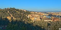 Landscape of Florence from Piazzale Michelangelo (Tuscany - Italy) in HDR
