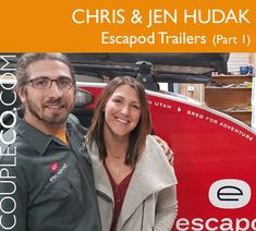 """Meet our first-ever manufacturing CoupleCo, Chris and Jen Hudak of Escapod Trailers. If you're a skier or a fan ofThe Amazing Race, and """"Jen Hudak"""" sounds familiar, that's because she isthatJen Hudak: the multiple-medal-winning freestyle skier in halfpipe who took part inAmazing Raceseason 30 in 2018. If you follow mixed-martial arts, you might know her husband by his former name, Chris Moore. He has competed in mixed martial arts internationally, which qualified him for an equally… Amazing Race, Mixed Martial Arts, How To Run Faster, Equality, Husband, Running, Adventure, Trailers, Photography"""