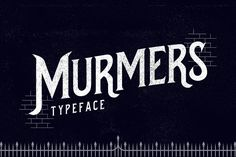 Murmers Typeface by Jiw on Creative Market