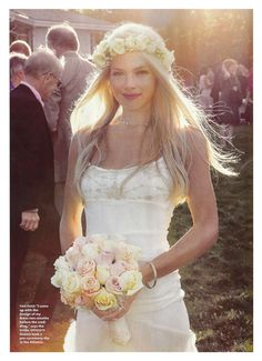 My wedding in Brides magazine July '12... Outdoor lawn party inspiration
