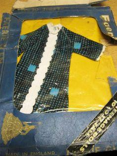 Faerie Glen - 10 - 12 inch doll dress 1960's - MIP - packaging 'tatty' - 1960's 1.04+2.5