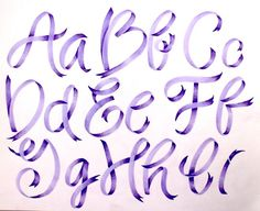 How to make ribbon lettering