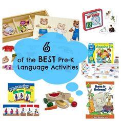 Speech Therapy - Preschool Language Activities