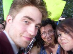 Gisela Gagliardi killed outside Comic-Con 2012. Her she is (center) with Robert Pattinson at a 2010 event.