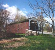 Bucher's Mill Covered Bridge  Cocalico Creek  Stevens, PA