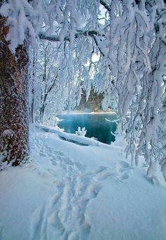 Hiver en Finlande