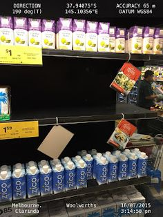 WHY YOU SHOULD TURN EMPTY SUPERMARKET FRIDGE SHELF INTO FULLY STOCKED SPACE TO MAX MANAGEMENT BONUS    WOOLWORTHS LIMITED  1 WOOLWORTHS WAY  BELLA VISTA NSW 2153  AUSTRALIA  Attention:  Mr. Grant OBrien  Chief Executive Officer of Woolworths  WHY YOU SHOULD TURN EMPTY SUPERMARKET FRIDGE SHELF INTO FULLY STOCKED SPACE TO MAX MANAGEMENT BONUS  Dear Mr. OBrien  I wish you well.  In a slow store at Clarinda on 16 July 2015 15:14:50 hrs I hope that you could use the powers vested in you to ensure…