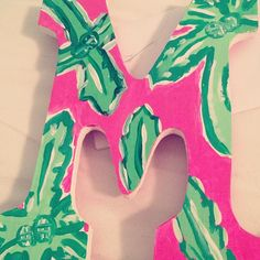 Painted Lilly letter
