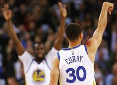 Oakland California 3/6/18; Golden State captured 50th win behind #StephCurry's 34 points,6 rebounds, 4 assists. #KevinDurant finished with 19 points, 6 rebounds, 3 assists. #KlayThompson finished with 18 points, #DraymondGreen had 16 points, 9 assists and 5 rebounds. #JavaleMcgee started once again and had 12 points.