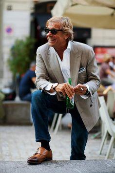 #linoieluzzi #albazarmilano #7style #doublebreastedjacket