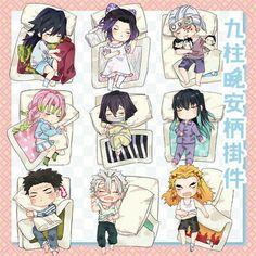 Anime Demon Slayer Kimetsu No Yaiba Kamado Tanjirou Acrylic Keychain Set N Anime Ai, Manga Anime Girl, Anime Angel, Anime Demon, Anime Chibi, Kawaii Anime, Japanese Animated Movies, Slayer Meme, Hxh Characters