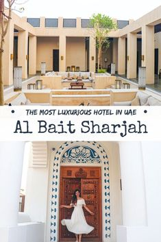 luxury hotel All details and striking pictures from our stay at the most luxurious hotel in UAE - Al Bait Sharjah. Inclusive Resorts, Hotels And Resorts, Best Hotels, Amazing Hotels, Dubai Travel, Prague Travel, Nightlife Travel, Elite Hotels, Book A Hotel Room
