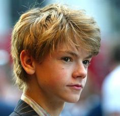 thomas brodie-sangster - Voice of Ferb, somehow he is six years older than me.. How is this adorable young man 22????