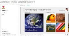 #Babbel.com lanza aplicaciones para #Windows8