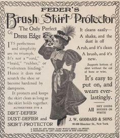 Brush Skirt Protector 1896
