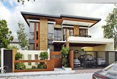 Modern 2 story house two story house designs 2 storey house design home design ideas modern . modern 2 story house two storey house design Two Story House Design, House Front Design, Small House Design, Modern House Design, Modern House Facades, One Storey House, 2 Storey House Design, Modern House Plans, Small House Plans