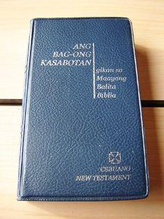 Cebuano New Testament / Catholic Aproved / Pocket Edition Cebuano NT CPV