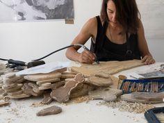 Printmaking Woodcut Carving Daniella Mooney