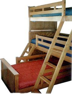 Image detail for -Triple Loft Bunk Beds Triple Bed, Triple Bunk Beds, Loft Bunk Beds, Kids Bunk Beds, Sports Bedding, Guest Room Office, Boys Bedroom Decor, Bedroom Ideas, Nursery Ideas