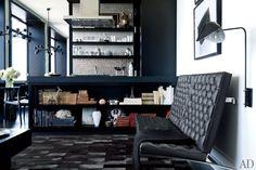 J. Mendel designer Gilles Mendel's black-and-white New York apartment