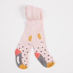 8af7aa60933f Catimini  Pink Bunny Polka Dots Tights