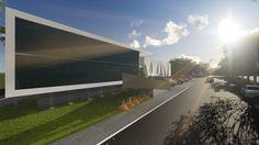Centro Mundial da Adoração - CMA  (Projeto arquitetônico de direito autoral do escritório Luiz Márcio Arquitetos.)