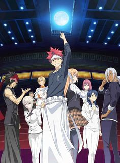 La segunda temporada de Shokugeki no Soma tendrá 13 episodios.