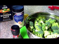 The Best Broccoli Ever! Quick & Healthy Recipe for Baking Broccoli - YouTube