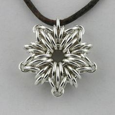 Starburst Chainmaille Pendant