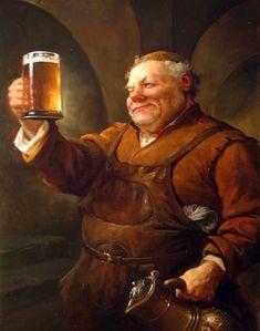 m npc Barkeeper Tavern urban city Character Portraits, Character Art, Beer Girl, Beer Pictures, Free Beer, Copper Art, In Vino Veritas, How To Make Beer, Wine And Beer