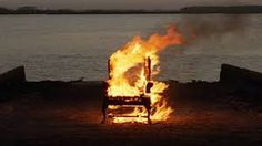 Naughty chair sending smoke signals to the indians