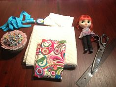 Silver Heart Creations: Blythe Doll Carrier Tutorial