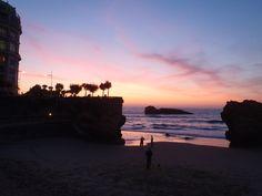 Grande Plage sunset