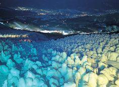 Snow monsters, Zao Snow Japan, Winter In Japan, Japan Ski Resorts, Snow Monster, Yamagata, Ski And Snowboard, Great View, Japan Travel, Skiing