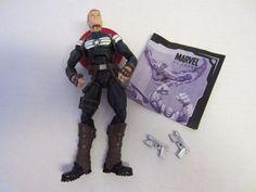 """Commander Steve Rogers Action Figure Captain America Marvel Legends 6 1/2"""" #MarvelLegends"""