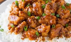 General Tso's Chicken Easy Soup Recipes, Chicken Recipes, Dinner Recipes, Detox Recipes, Poulet General Tao, Slow Cooker Barbecue Ribs, Asian Recipes, Ethnic Recipes, Hoisin Sauce