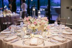 Allie and Kyle's wedding #reception #floral #centerpiece #weddinginspiration  Photography by melissaschollaertphotography.com